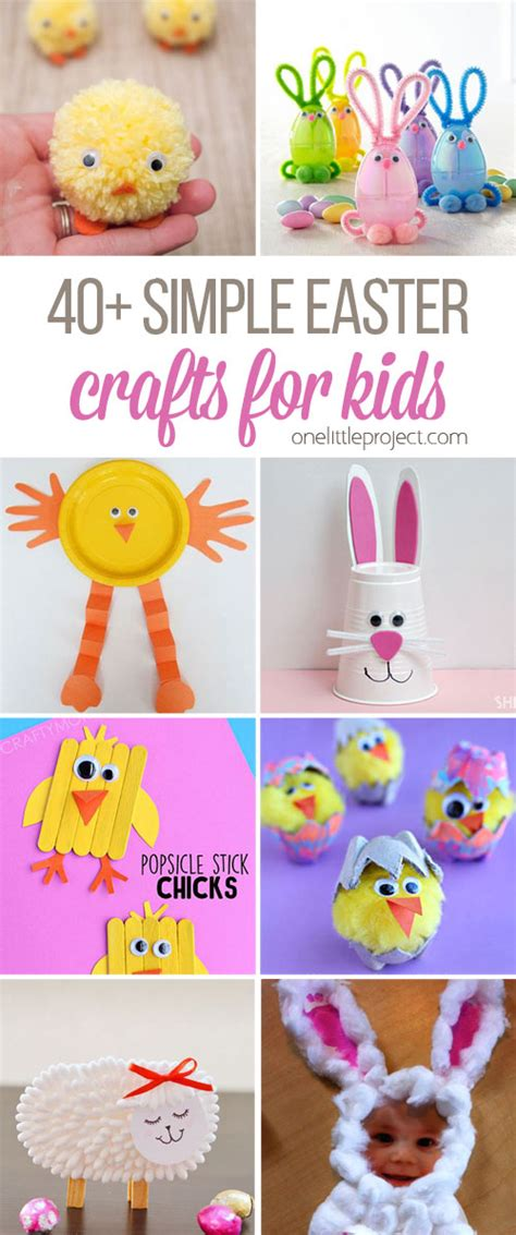 simple easter crafts  kids   project
