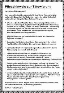 Einverständniserklärung Tattoo : tattoo pflege domex ink tattoos webseite ~ Themetempest.com Abrechnung