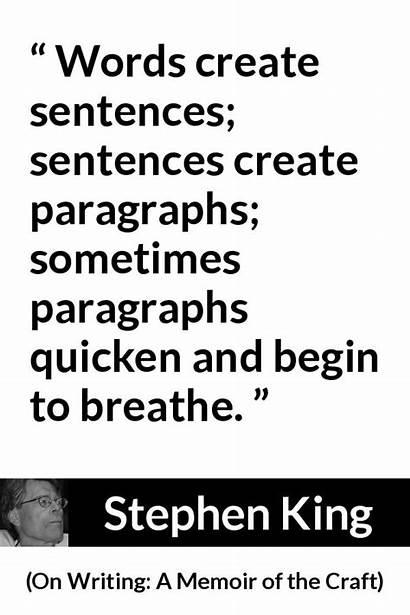 Sentences Words Paragraphs Sometimes Create Word Craft