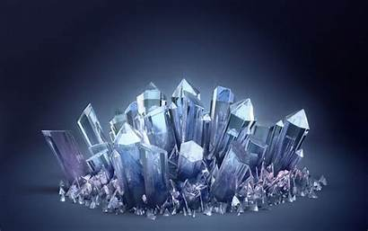 Crystal Crystals Amazing Glowing Wallpapers Creative Been