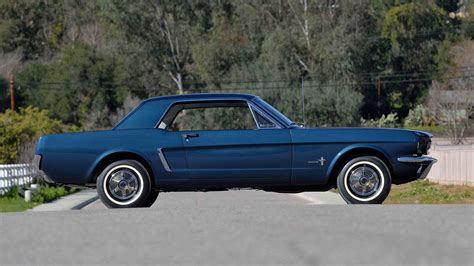 The First Ford Mustang Hardtop