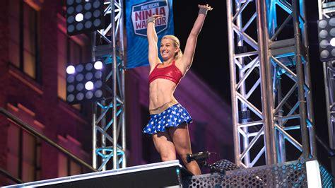 graff jessie ninja warrior american finals angeles los nbc supergirl kick blowing mind trendz quirkybyte