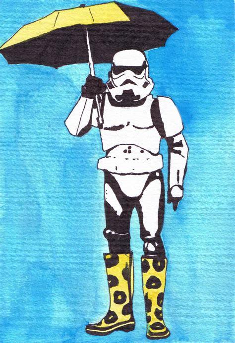 Austin B's Art: Star wars pop art