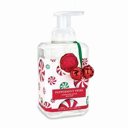 Soap Hand Peppermint Foaming Swirl Michel Works