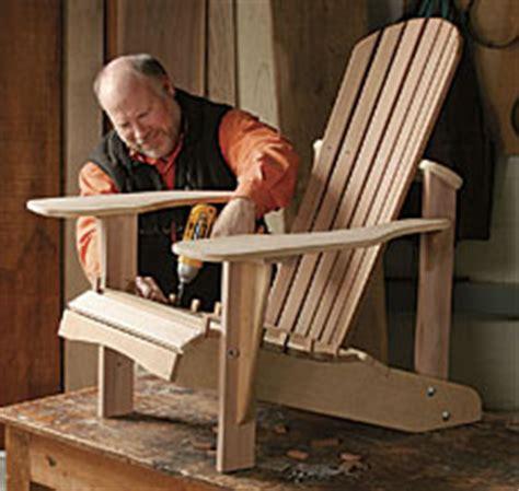 assembling  adirondack chair finewoodworking
