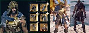AC: Odyssey Legendary Armors | Unlock All Legendary Armor ...