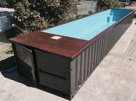 container swimming pool portamini storage swimming pool out of storage container