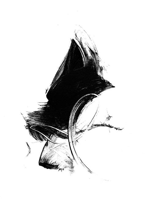 Abstract Black And White Artwork by Black And White Gestural Abstract Print By Paul