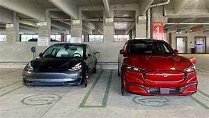 Ford Mustang Mach-E and Tesla Model 3 Size Difference is ...