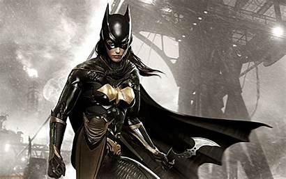 Arkham Batman Knight Wallpapers Batgirl Desktop Background