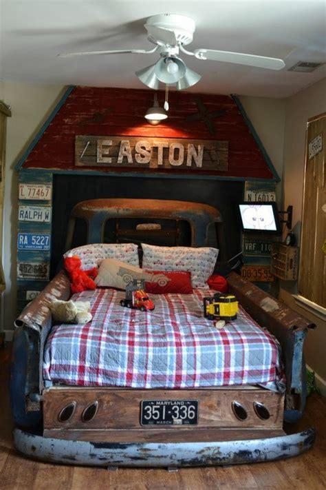 upcycled truck bed frame home design garden