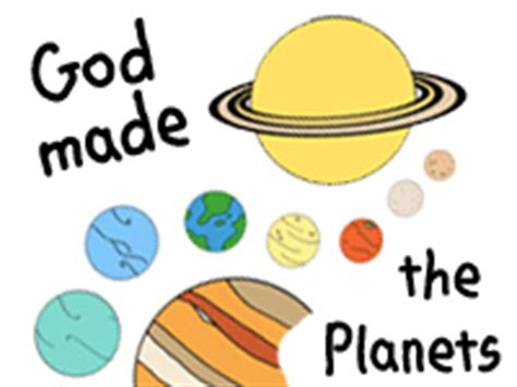 god made the planets bible lesson education theme outer 844 | 8c74d52f8b85893944b14a59ca0e10c5