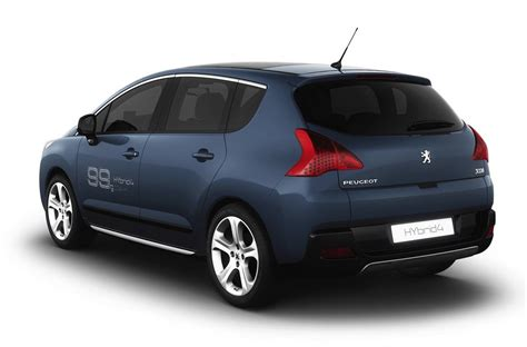 Peugeot 3008 Hybrid4 by 2011 Peugeot 3008 Hybrid4 Reviews Photos Price