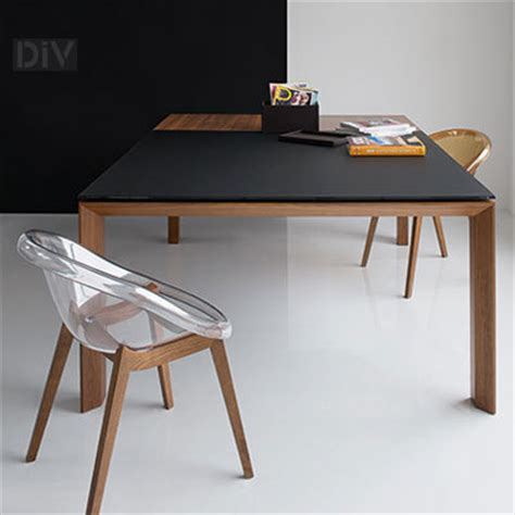 omnia glass square extendable dining table dining tables