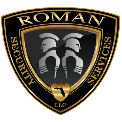roman security services logos roman security services llc