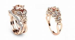 rose gold rings for him