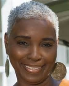 Short Hairstyles for Black Women Natural Gray Hair