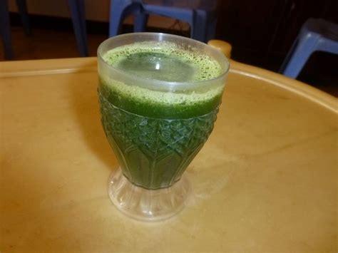Bermuda Grass Juice (cynodon Dactylon), A Natural Health Drink