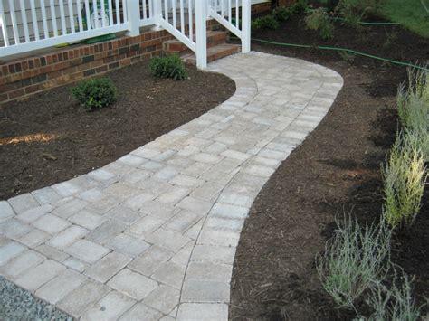 paver walkway pictures paver patios walkways richmond va cross creek nursery landscaping