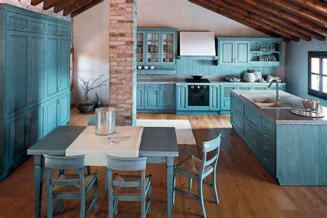 teal color kitchen jak mogą wyglądać niebieskie meble kuchenne 2680