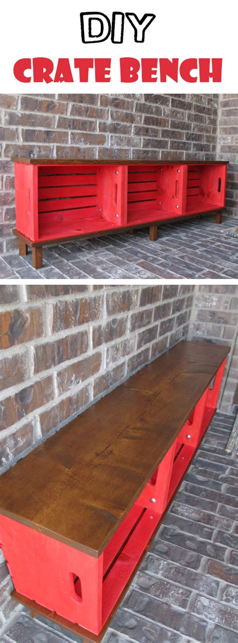 crate furniture bench 26 brilliant diy wood crate projects repurposing with