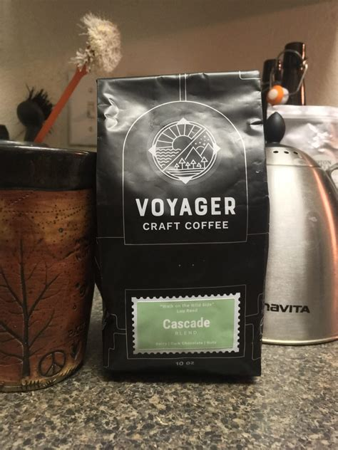 Lots of people chilling or studying with their drinks. Voyager Craft Coffee, Cascade Blend - Coffee Ken