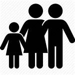 Daughter Parents Icon Father Mother 512px