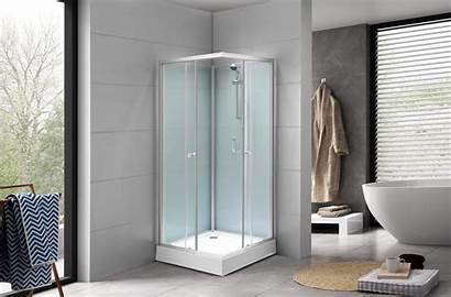 Cabin Shower Bath Bathrooms Detroit Deluxe Low