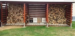Unterstand Für Brennholz : einen stabilen brennholzunterstand brennholzschuppen gut und g nstig selbst bauen zeigt her ~ Frokenaadalensverden.com Haus und Dekorationen