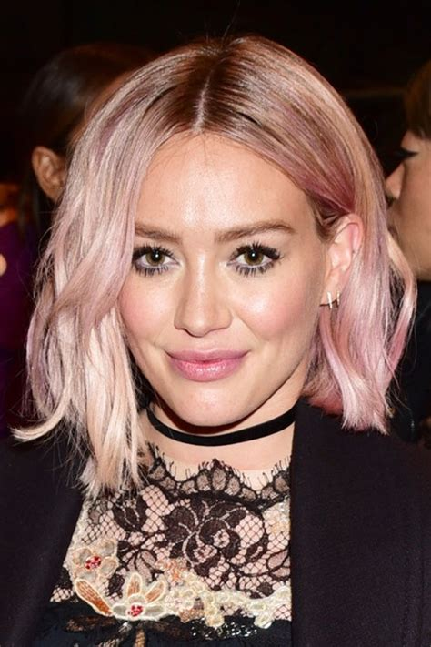 hilary duffs hairstyles hair colors steal  style