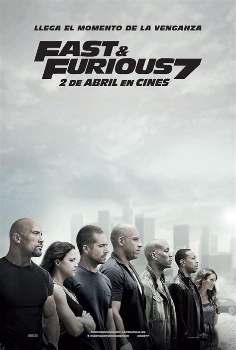 Fast & Furious 7  Película 2015 Sensacinecom