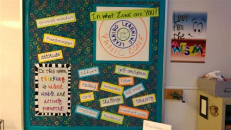 Growth Mindset Bulletin Boards