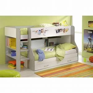 Lit Superposé Escalier : lit superpose rangement ~ Premium-room.com Idées de Décoration