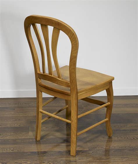 chaise en ch 234 ne massif de style louis philippe assise chene meuble en ch 234 ne