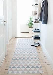 un tapis dans mon entree o aventure deco With tapis long pour couloir