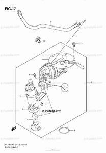 Suzuki Motorcycle 2006 Oem Parts Diagram For Fuel Pump