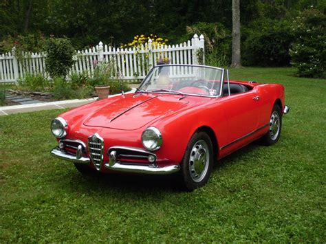 Alfa Romeo Spiders For Sale by 1960 Alfa Romeo Spider For Sale