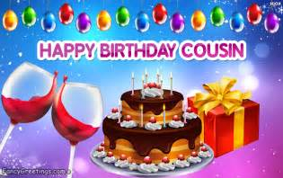 Happy Birthday Cousin Wishes