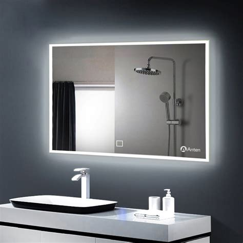 Bathroom Mirrors With Built In Lights by 100 60cm Led Illuminated Bathroom Mirror With Built In