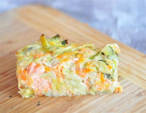 poireau cuisine flan aux poireaux carottes et saumon cuisine avec