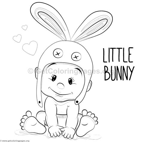 bunny boy coloring pages getcoloringpagesorg