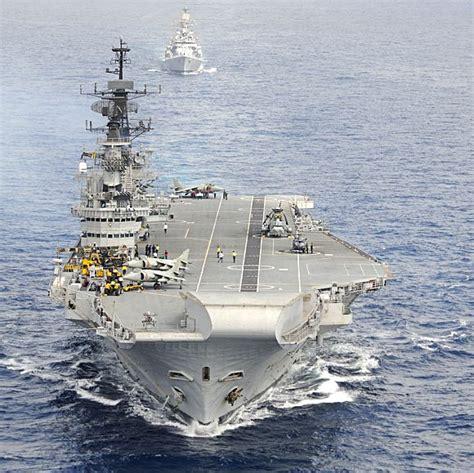 Aircraft Carrier Ins Viraat Turns 25