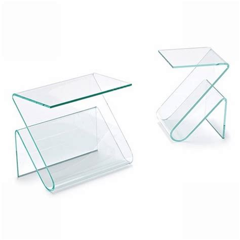 bent glass end table sovet zeta end tables bent glass curved glass ultra