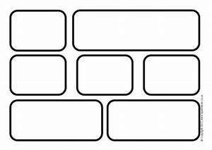 8 best images of printable brick template for teachers for Blank word wall template free