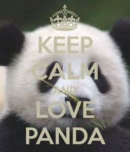 Keep Calm and Love Pandas Quotes