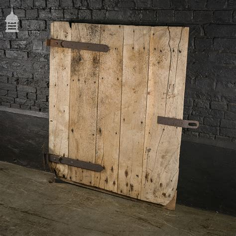 reclaimed elm reclaimed antique elm ledged barn door with original hinges