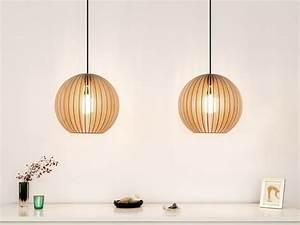 Suspension En Bois : 5 cr ations design 100 bois joli place ~ Teatrodelosmanantiales.com Idées de Décoration