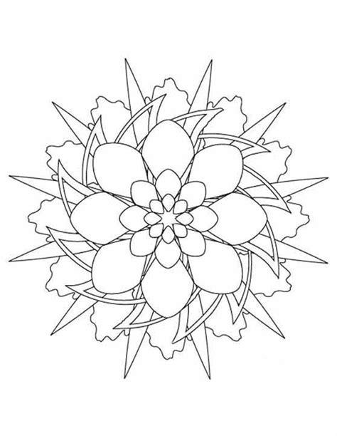 Kleurplaat Mandala Kerst by Kleuren Nu Mandala Sterpatroon Kleurplaten