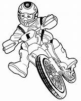 Moto Dirt Coloring Bike Motos Cross Coloriage Imprimer Meilleures Tableau Enfant Beau Dibujos Motocross Pintar sketch template