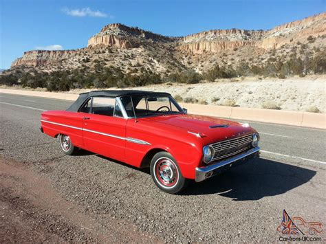 Futura Shows by 1963 Ford Falcon Futura Convertible Classic Trophies